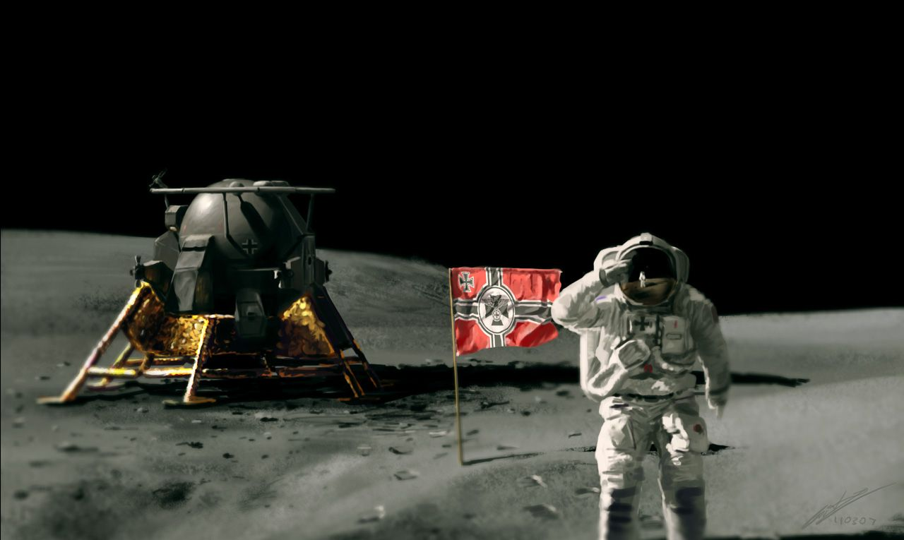 swastika moon astronaut - photo #45