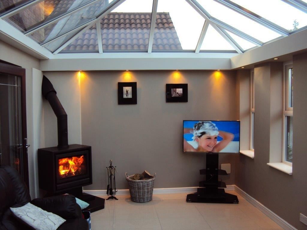 Contemporary Conservatory Orangery Creating A Cosy