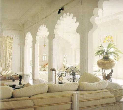 Intian piha; nykyajan piha taloa; Intian koteja pihalla; perinteisiä taloja piha