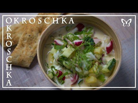 Okroschka | Russisches Fitfood | weniger als 200 Kalorien