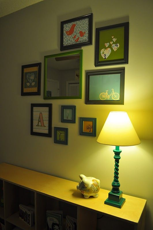 frame arrangement | House - Things for my Wall | Pinterest | Nursery ...