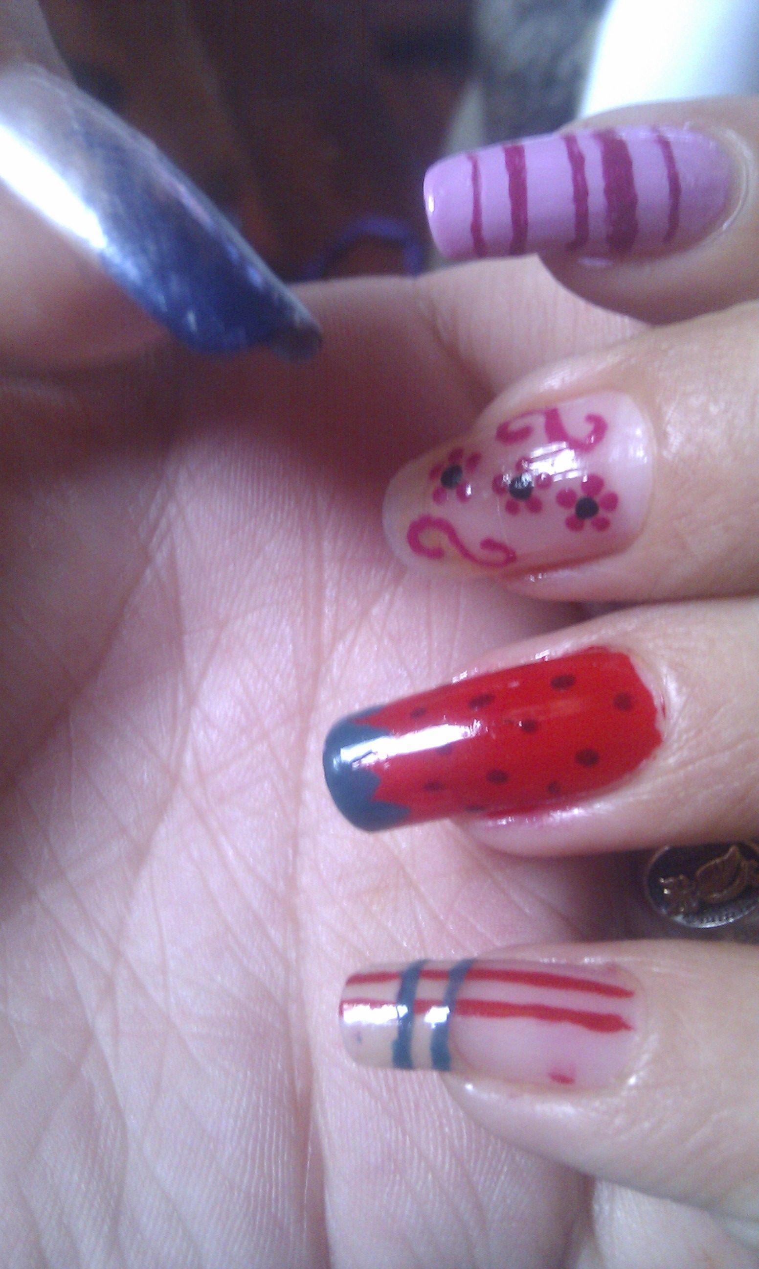 diseños uñas nails
