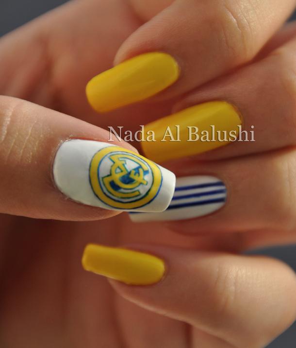 Real Madrid Nails Realmadrid Futbol In 2019 Pinterest Real
