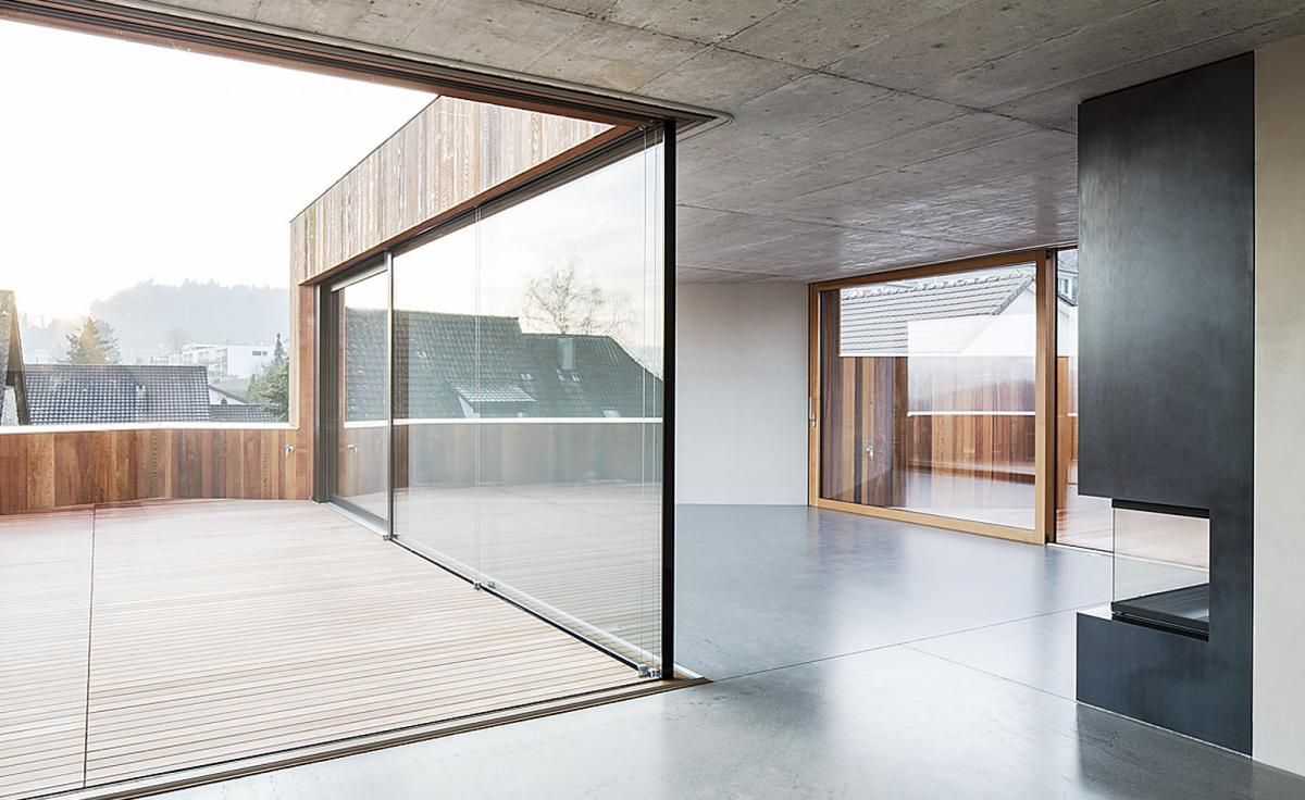 Photo of Into the woods: a timber-clad Swiss home brings the outside in