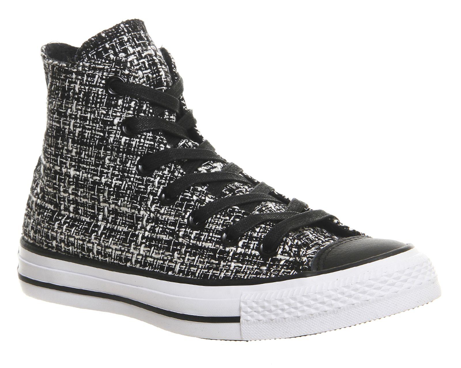Converse Sneakers Converse All Star Hi Black Tweed