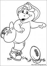 Cool Barney Coloring Book 35 Barney and Friends coloring