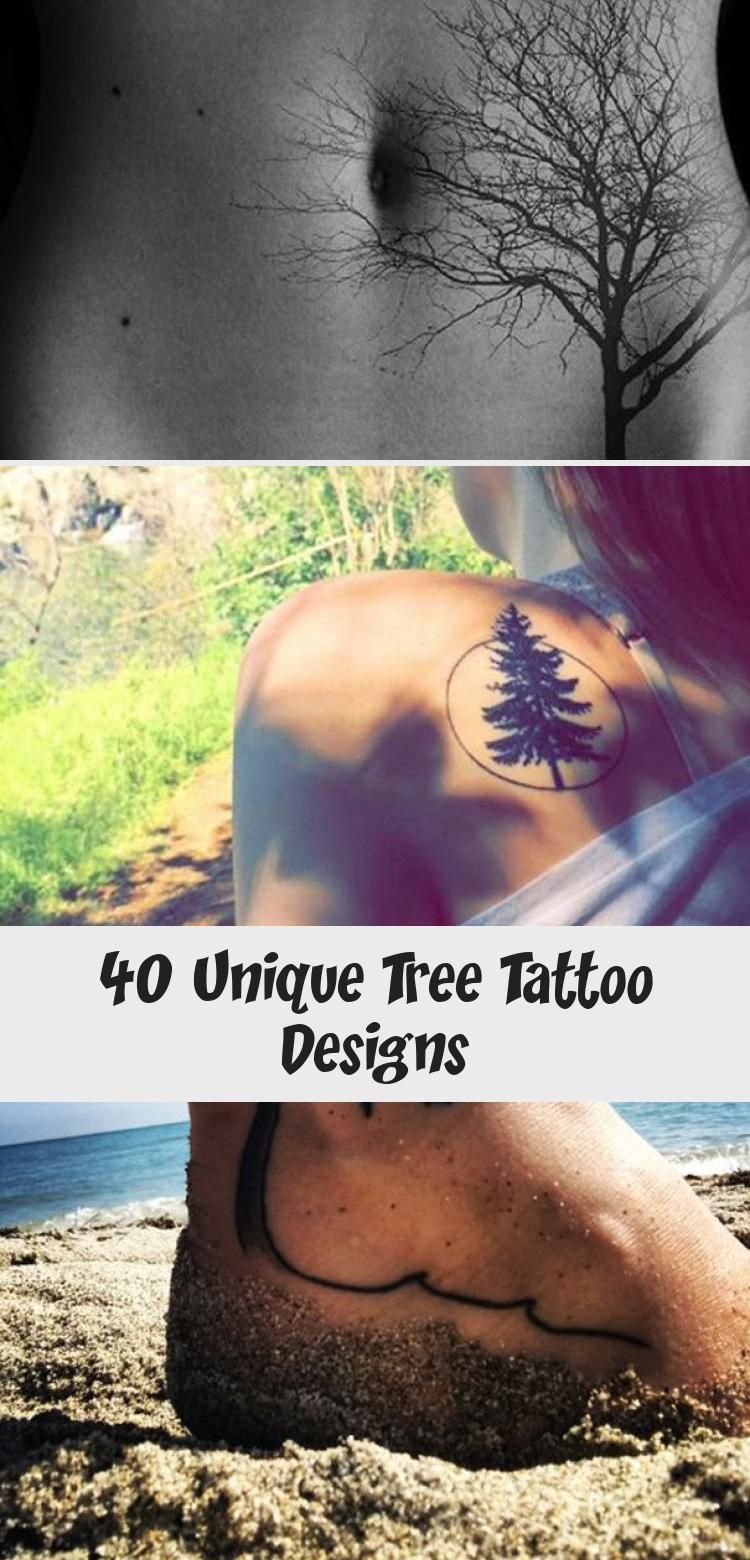 Photo of 40 conceptions uniques de tatouage d'arbre – Blog de tatouage