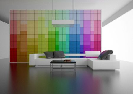 Colorful Room Paredes Pinterest Paredes interiores, Panel y - paneles para pared