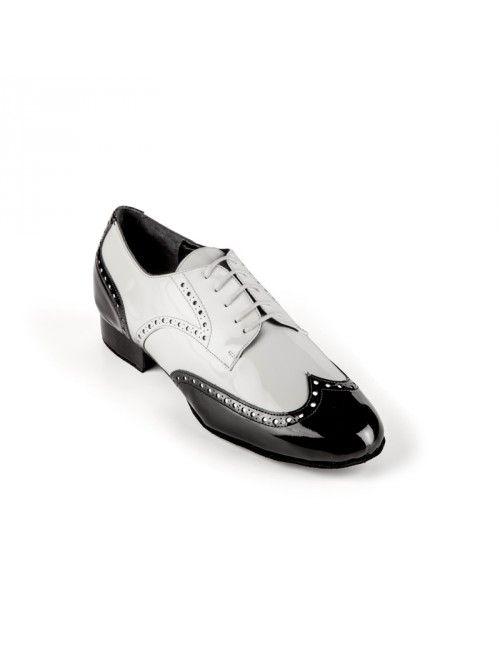 Robert Charol Hombre Socialtango Baile Blanco Negro Zapato De En rvwYrASq