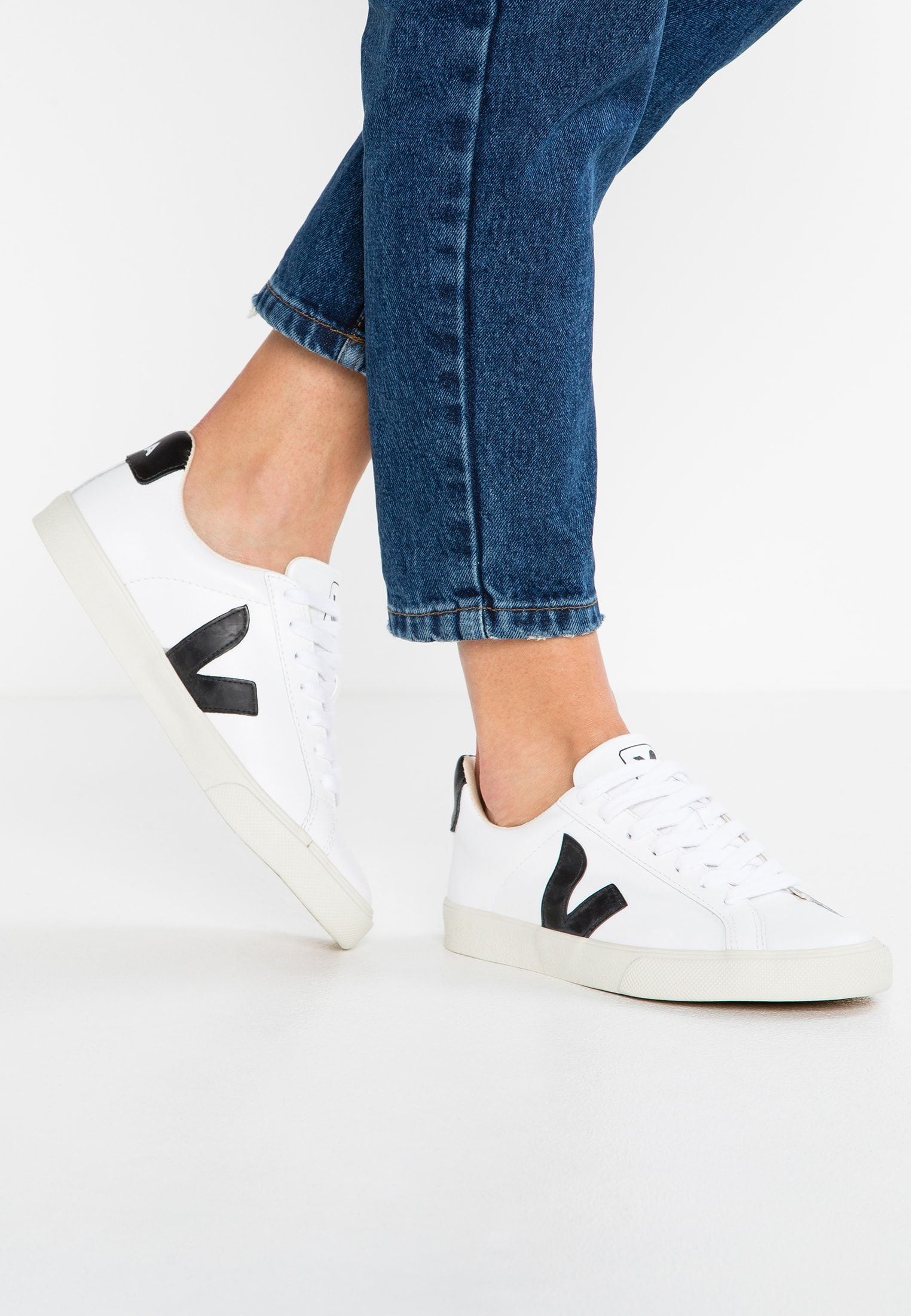 ESPLAR - Sneakers laag - extra white/black @ Zalando.be ...