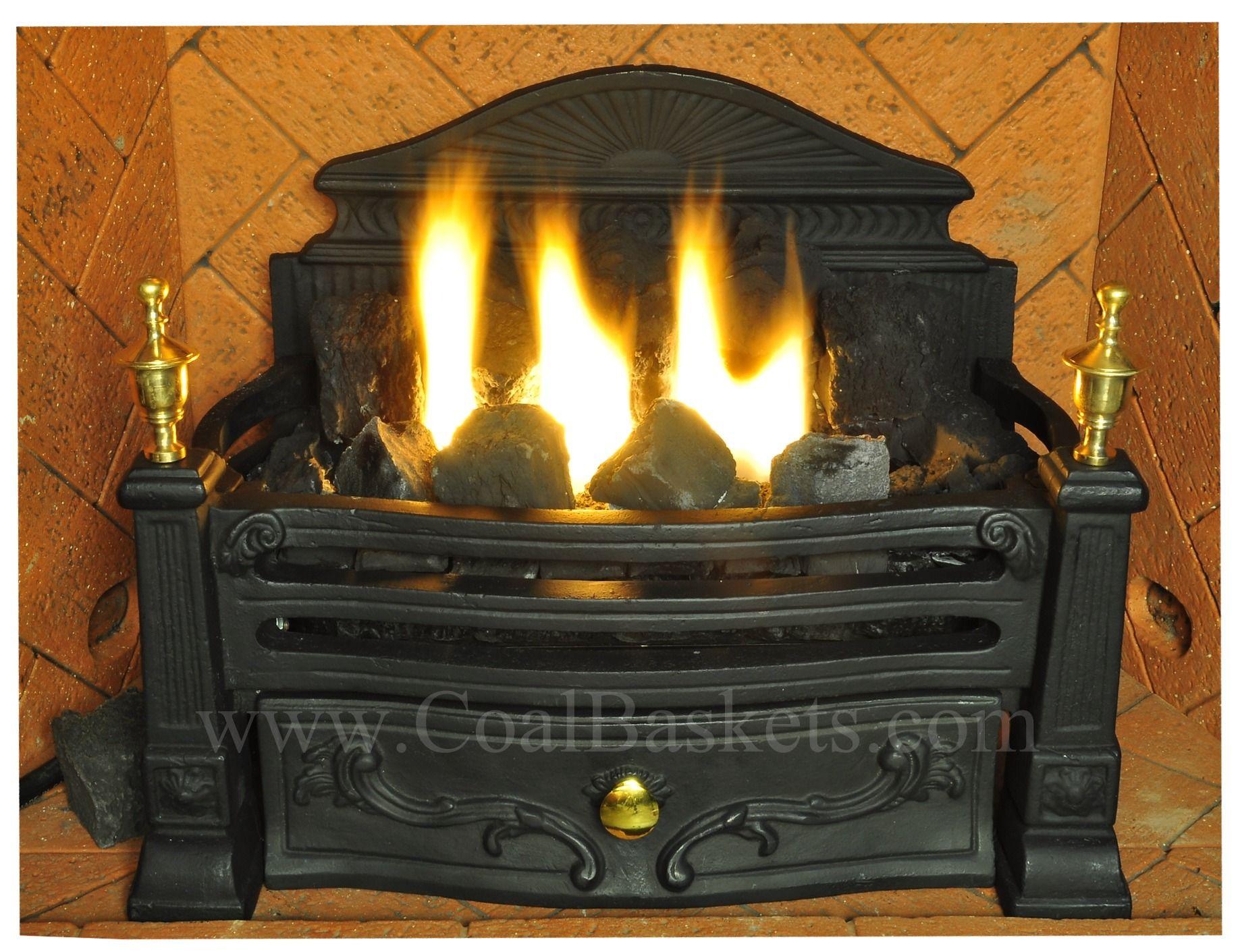 Vent Free Coal Basket By Regency Fire Basket Faux Fireplace Fireplace