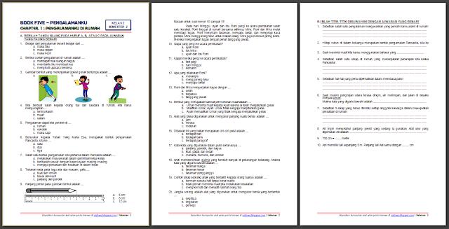Soal Ukk Tematik Kelas 2 Tema 5 Dan Kunci Jawaban