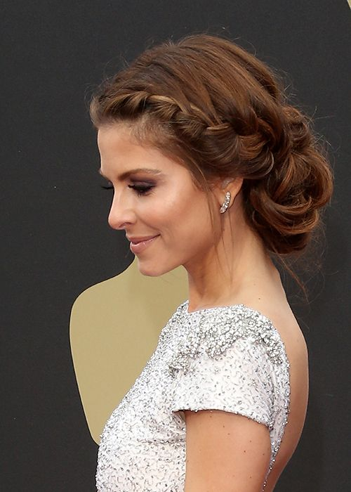 Best Pinterest Wedding Hairstyles Maria Menounos