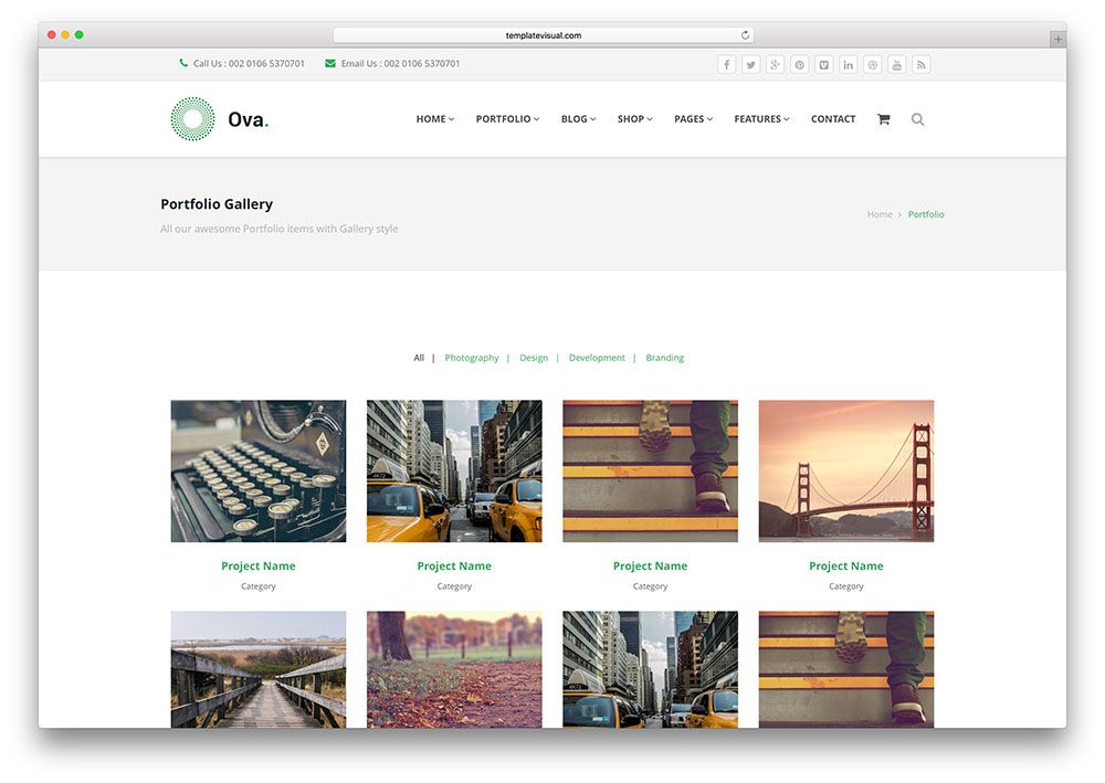34 best portfolio website templates html wordpress