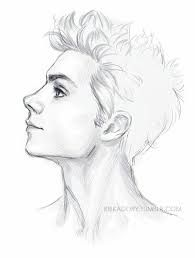 image result for side on face reference sketch eye draw drawings