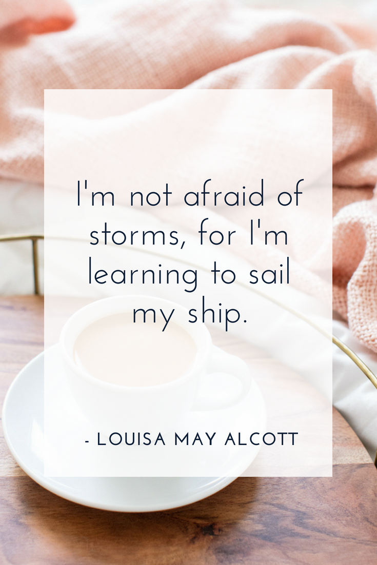 Motivational Quote For Girl Bosses By Louisa May Alcott Dream