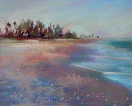 Turner Beach Sanibel Island Painting Original Art Painting By