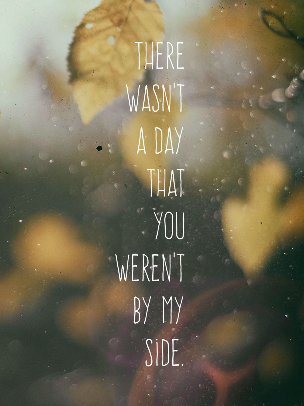 There Wasn T A Day That You Weren T By My Side Bethel Music Lyrics