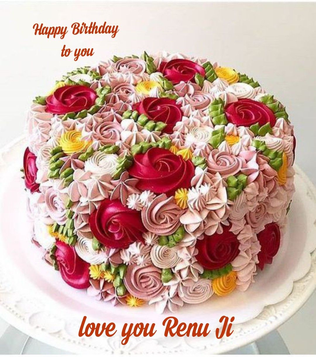 Pin By Amira Elbando On Happy Birthday Anni Birthday Cake Decorating Cake Cover Cake Decorating