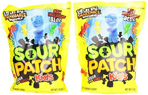 Sour Patch Kids 1 9 Pound Bags Pack Bestseller Sour Patch Kids Sour Patch Chocolate Covered Nuts