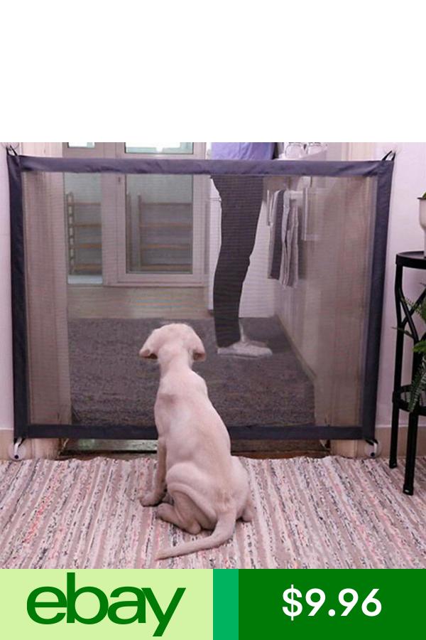 Ebaysafety Gates Pet Supplies Dog Gate Pet Barrier Retractable Dog Gate