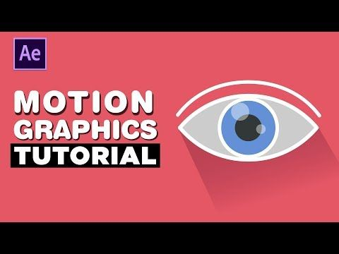 Eye Motion Graphics Animation - After Effects Tutorial - YouTube #motiongraphic