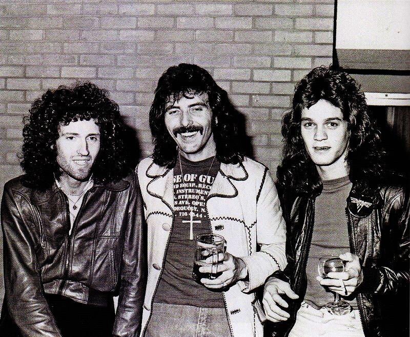 Brian May, Tony Iommi & Eddie Van Halen | We will rock you, Roger ...