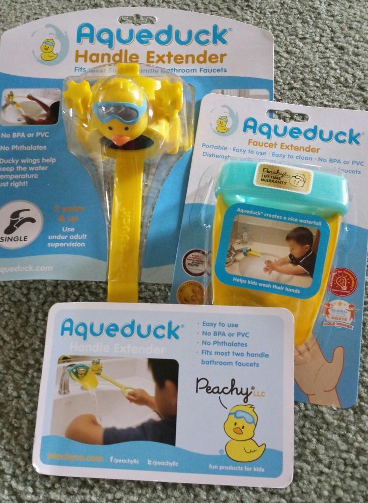 Aqueduck Faucet Extender {Review} | Babies