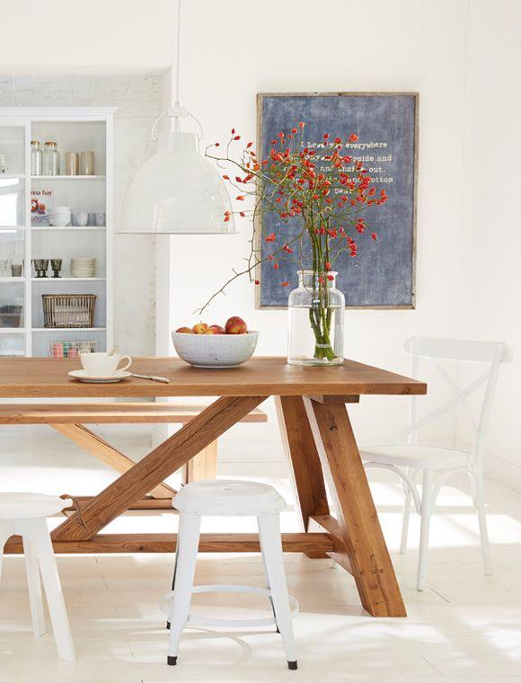 Esstisch Wohn Esszimmer Rustikale Tische Und Esstisch