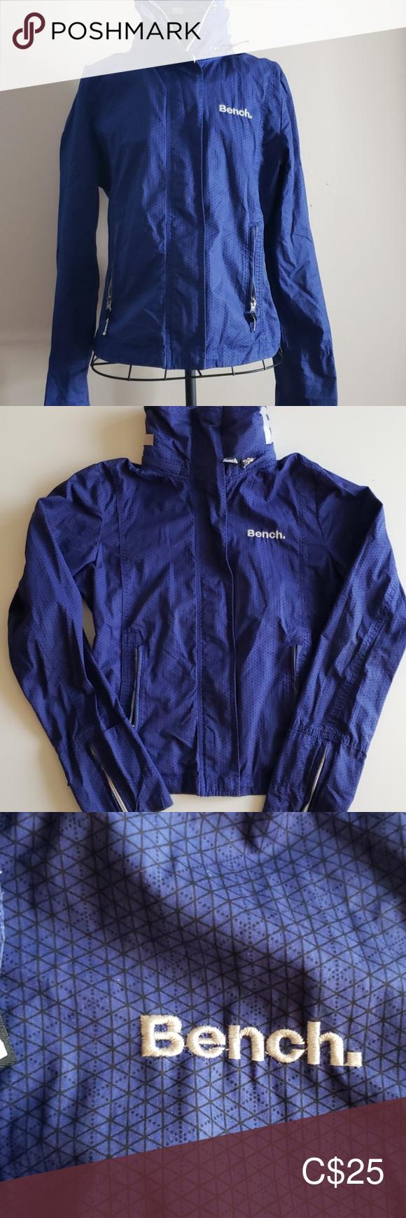 Women S Blue Bench Jacket Size Medium Bench Jackets Jackets Jackets For Women