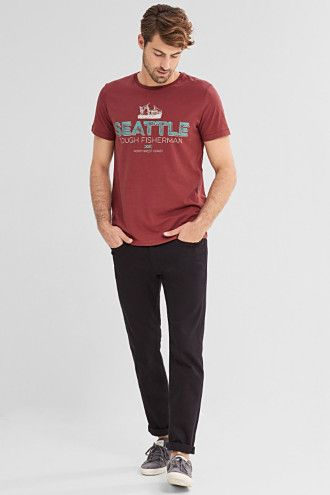 Esprit / Jersey T-shirt in 100% cotton