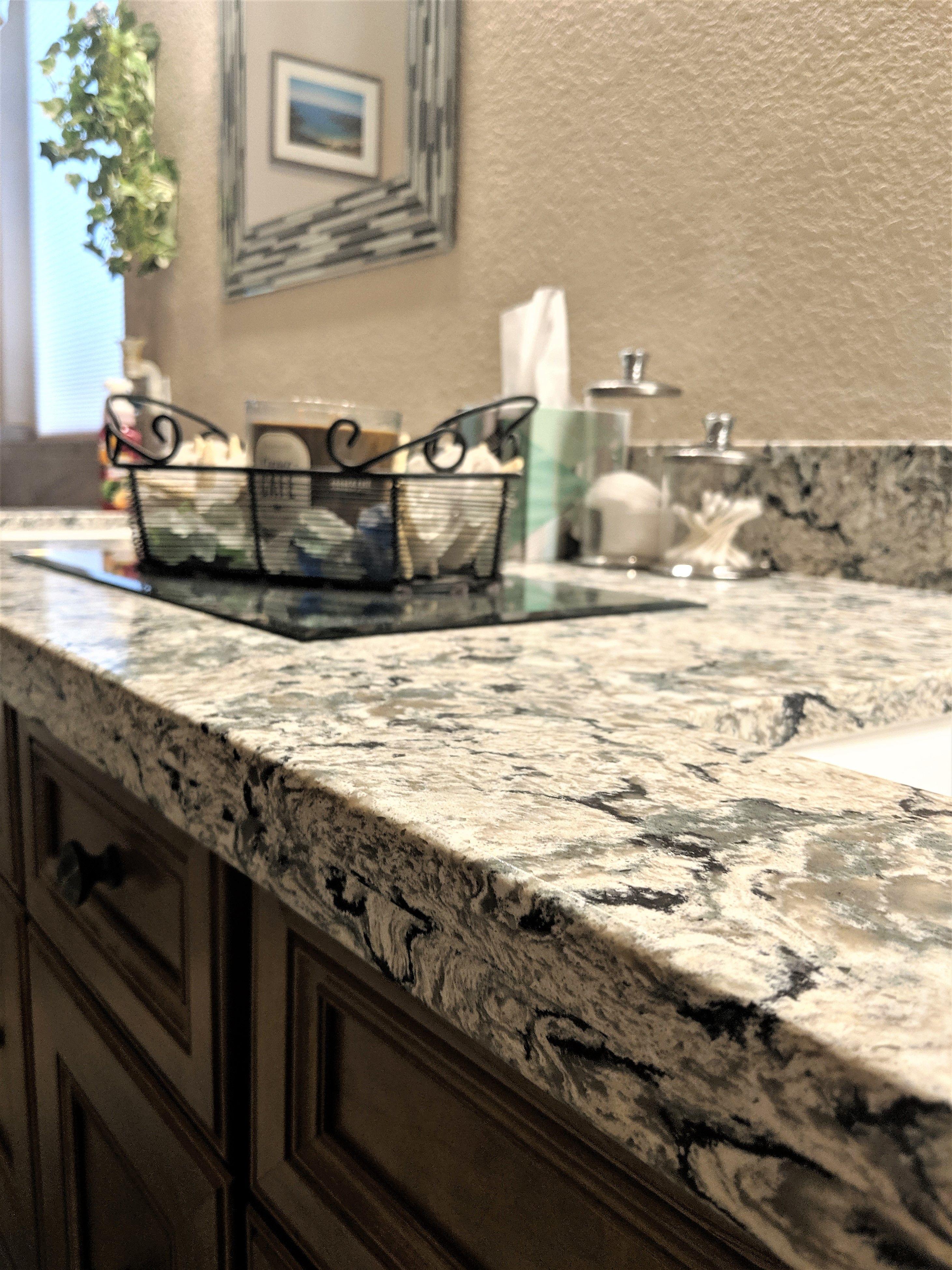 Quartz Counters That Resemble Granite No Sealing Antimicrobial