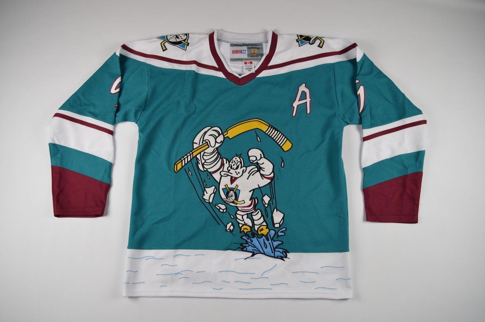 New Vintage Rare Large Anaheim Mighty Ducks Paul Kariya  9 Hockey Jersey  please retweet c3d6e3e07