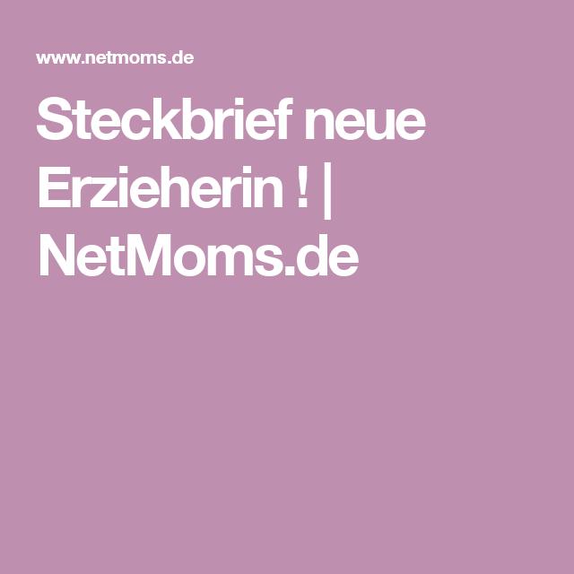Steckbrief Neue Erzieherin Steckbrief Erzieherin Steckbrief Erzieherin