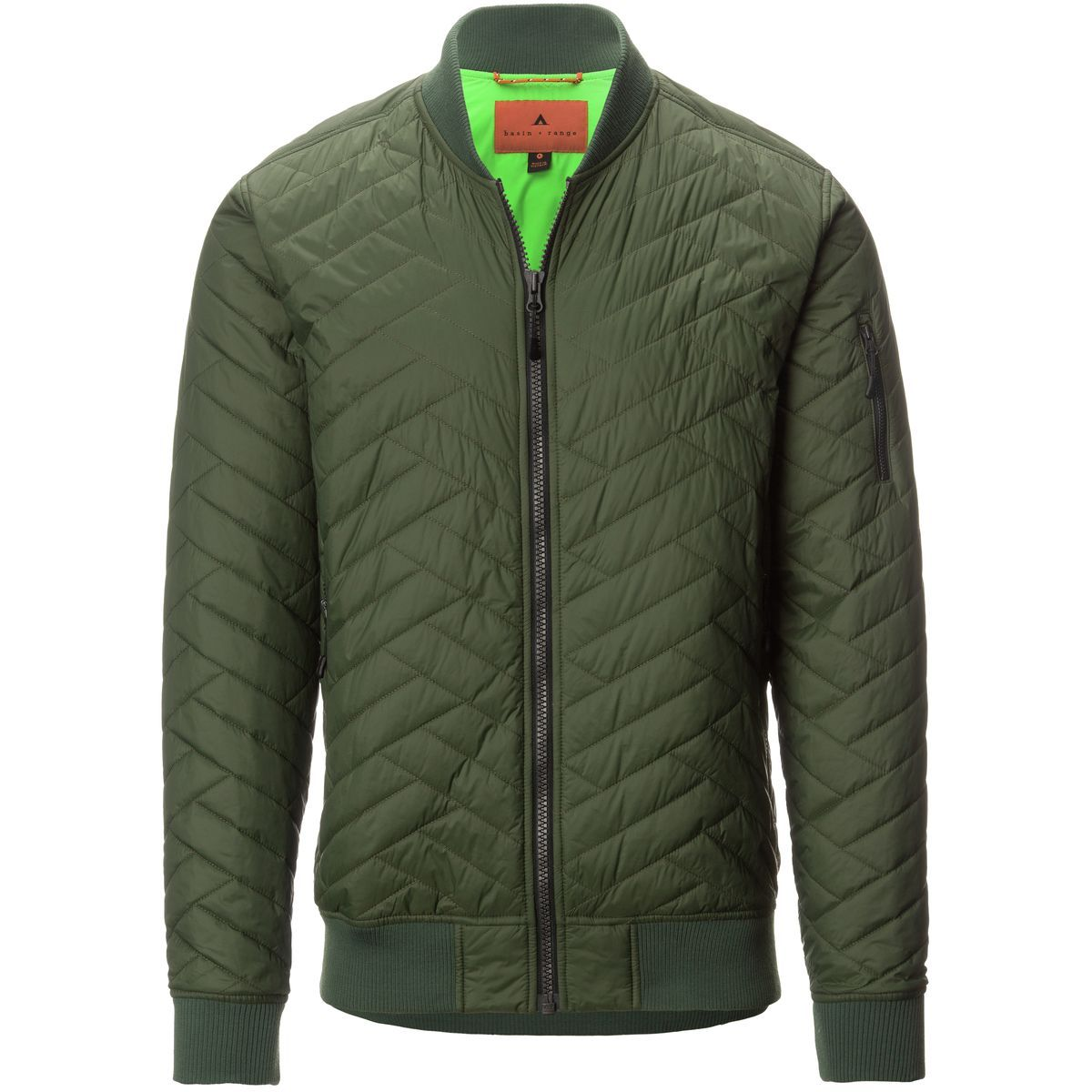 Basin and Range - Bear River Primaloft Bomber Jacket - Men ...