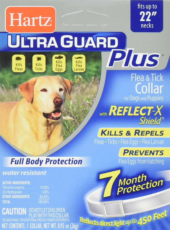Hartz UltraGuard Plus 7 Month Protection Reflective Flea