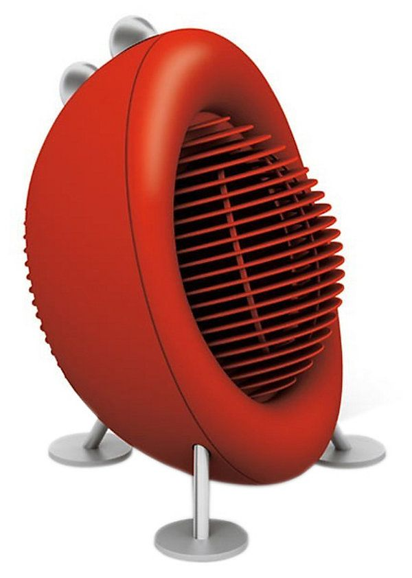 One Kings Lane - Escape the Heat! - Stadler Form Max Heater, Red