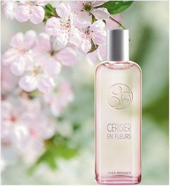 Yves Rocher Cherry Blossom Un Matin Au Jardin Yves Rocher