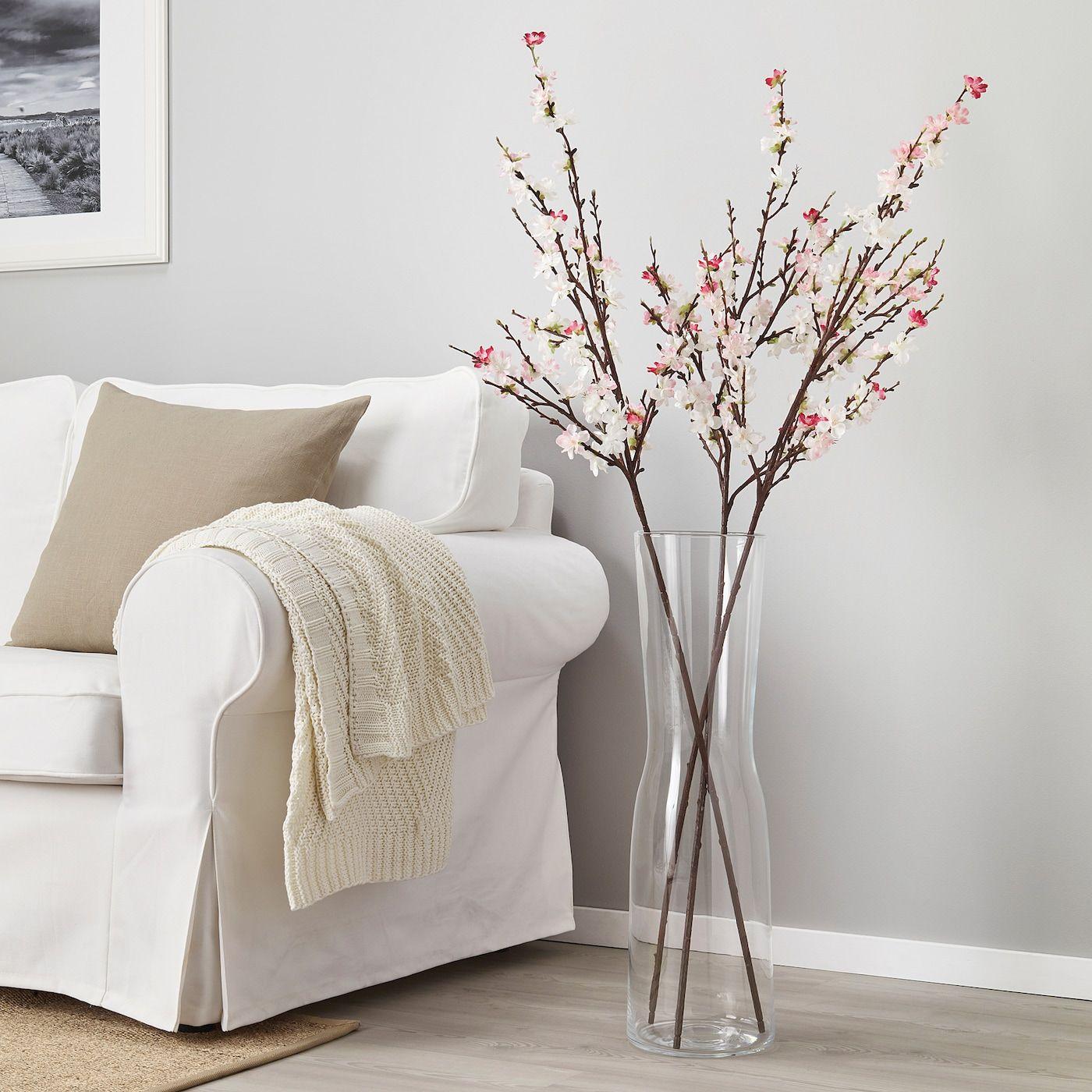 Smycka Artificial Flower Cherry Blossoms Pink Ikea In 2021 Ikea Artificial Flowers Fake Flowers Decor Floor Vase Decor