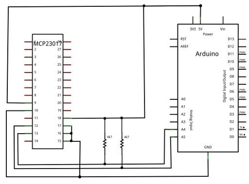 Learn how to use the Microchip MCP23017 port expander with