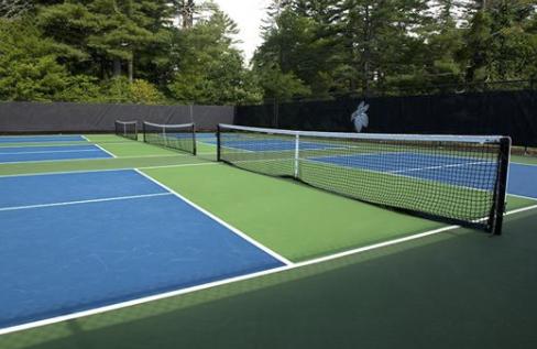 Home Pickleball Court Pickleball Tennis Court
