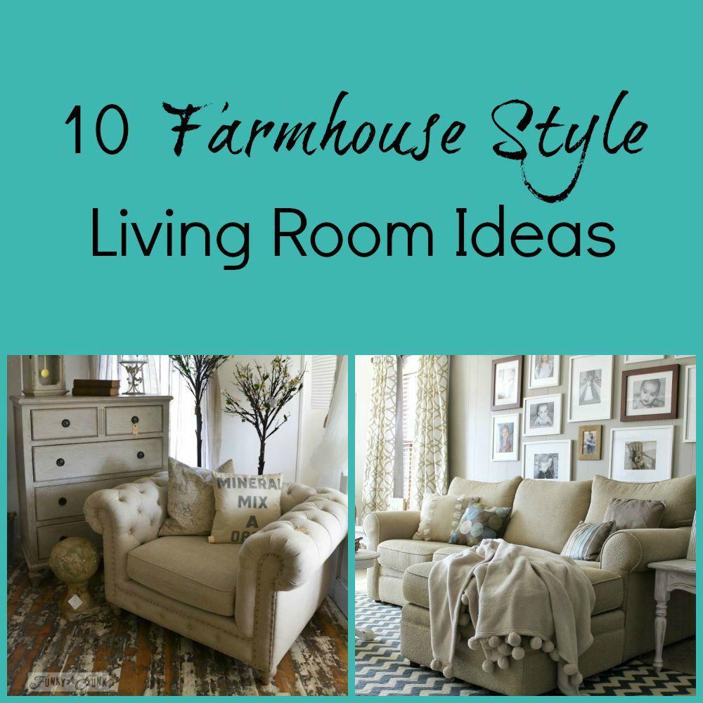 10 Farmhouse Style Living Room Ideas | Deko & Lifestyle | Pinterest ...