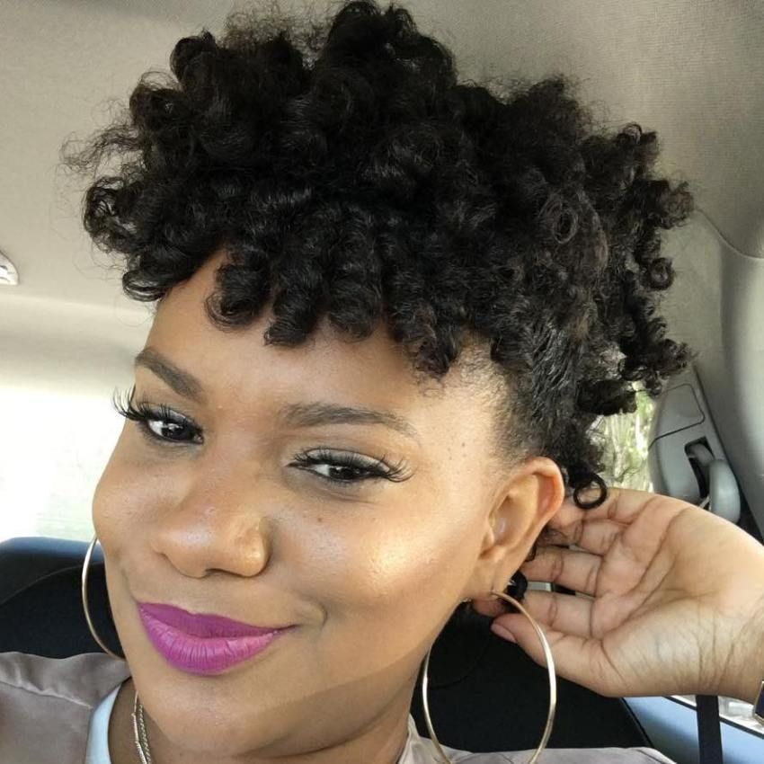 Natural Twisted Updo For Shorter