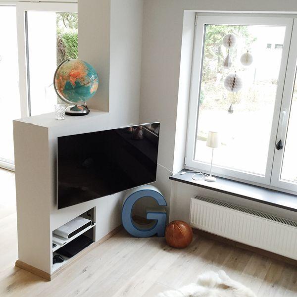 wohnzimmer update in 2018 wohnzimmer pinterest fernseher verstecken alte wohnungen und. Black Bedroom Furniture Sets. Home Design Ideas