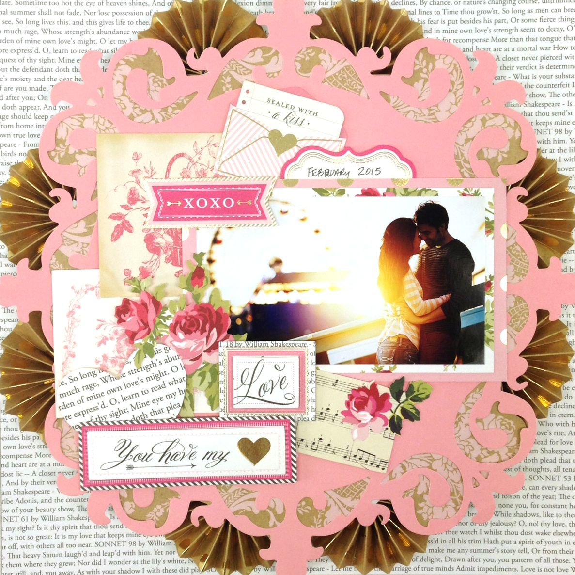 Juliet scrapbook ideas - Anna