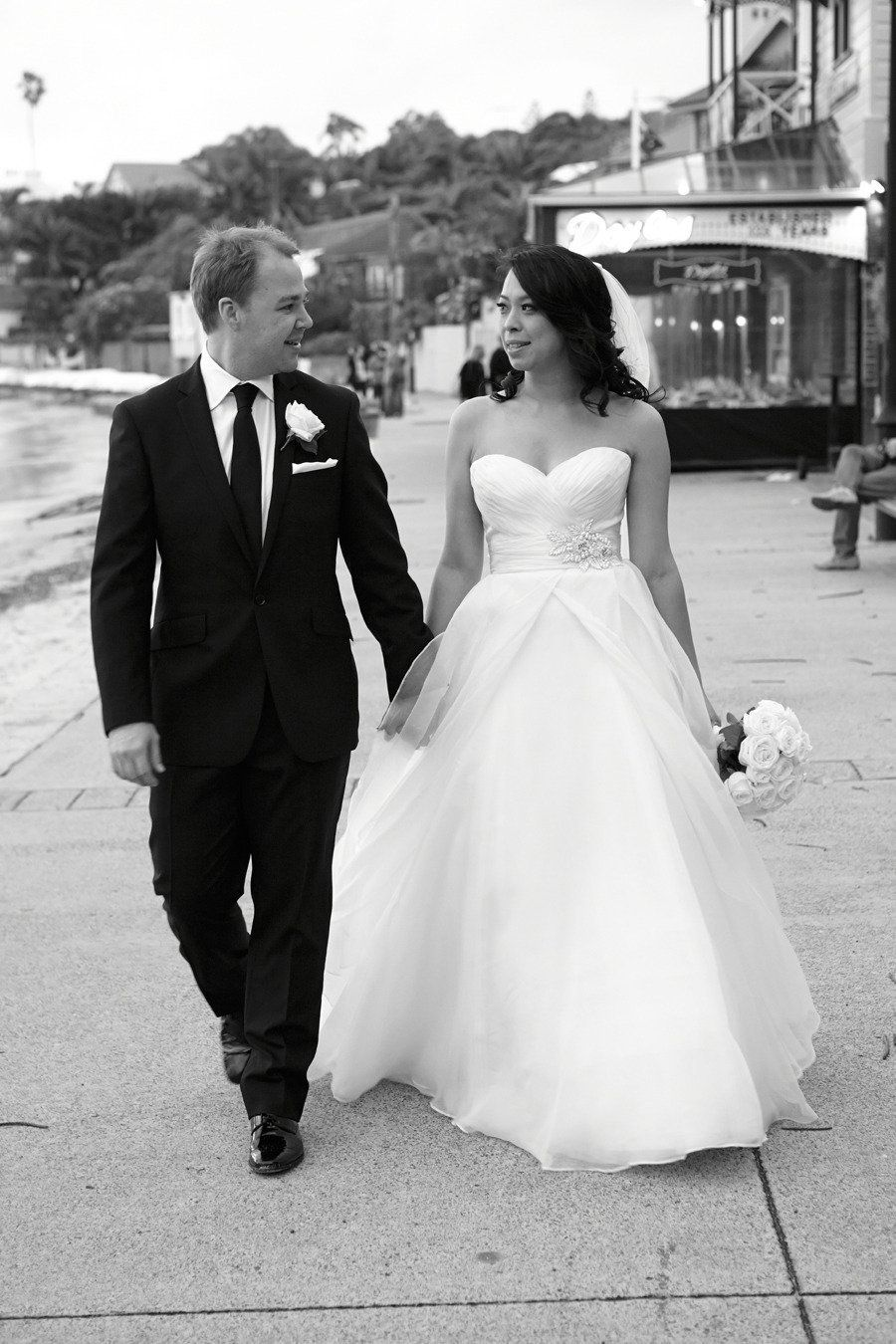 Real Bride in Watters Wedding Gown Anouk Style 2071B  Photography: Milk and Honey - milkandhoney.com.au  Read More: http://stylemepretty.com/2013/08/20/sydney-wedding-from-milk-and-honey-photography/
