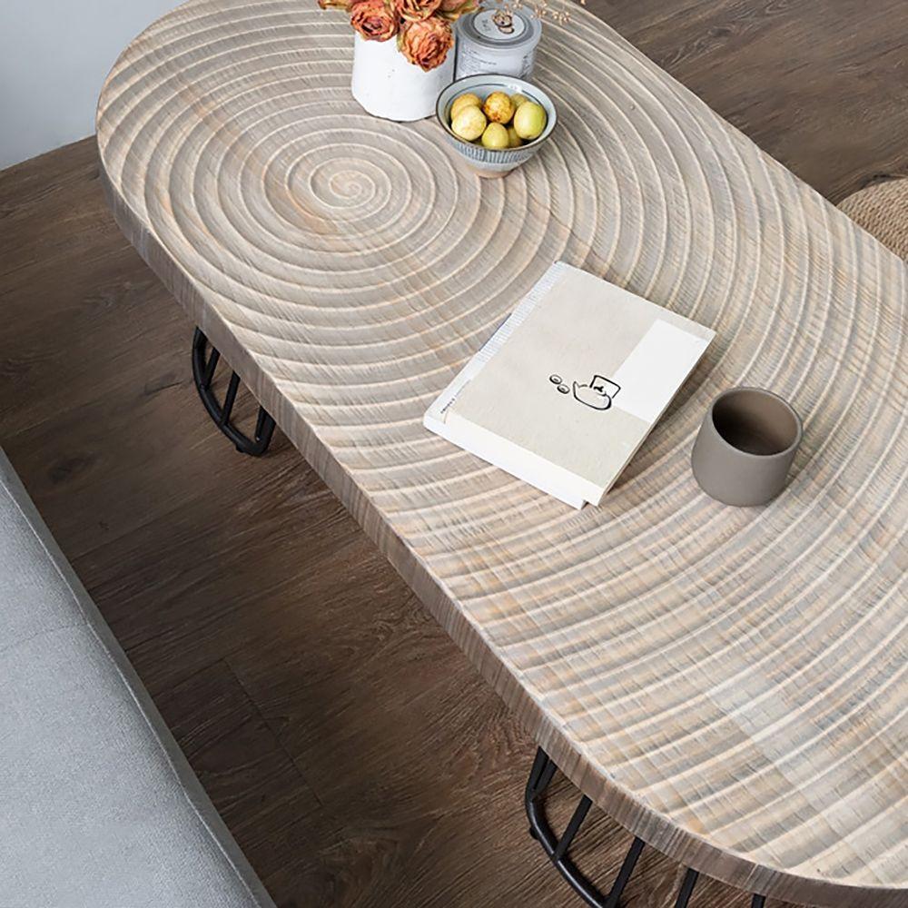 47 Vintage Oval Coffee Table Solid Wood Table Top Growth Rings Metal Base In 2021 Solid Wood Coffee Table Solid Wood Table Tops Oval Coffee Tables [ 1000 x 1000 Pixel ]
