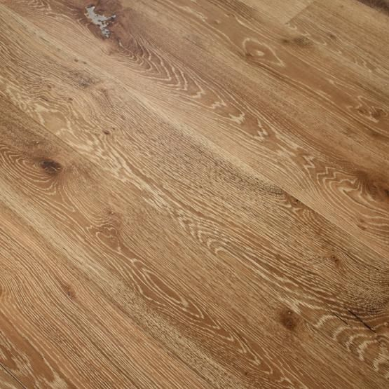 White Oak Sandstone 9 16 X 7 1 2 Wire Brushed Engineered Hardwood Flooring Flooring Engineered Hardwood Flooring Wood Floors Wide Plank