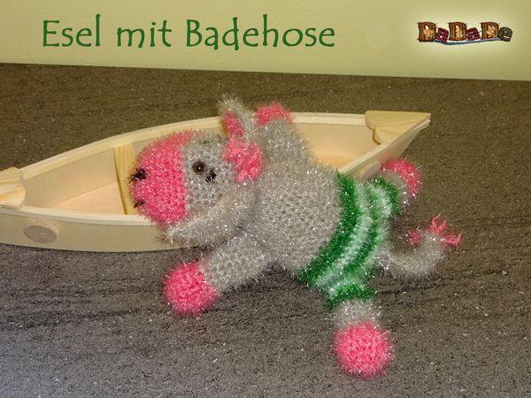 Bade- Tier Esel, gehäkelt von Dadade | Crazypatterns ...