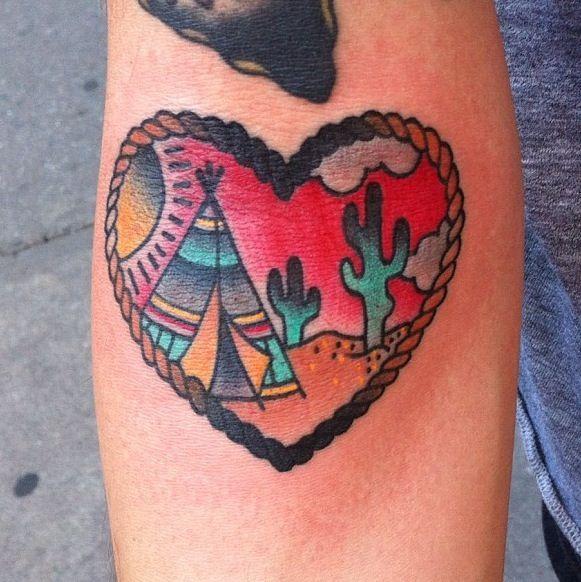 From ohashleylove ig thicker than water tent desert for Arizona desert tattoo